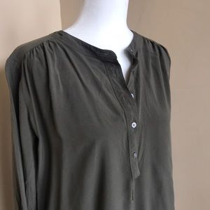 {Loft} Olive Tunic. Excellent Used Condition.